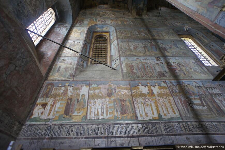 Фресковые росписи, выполнены в 1597—1600 гг.