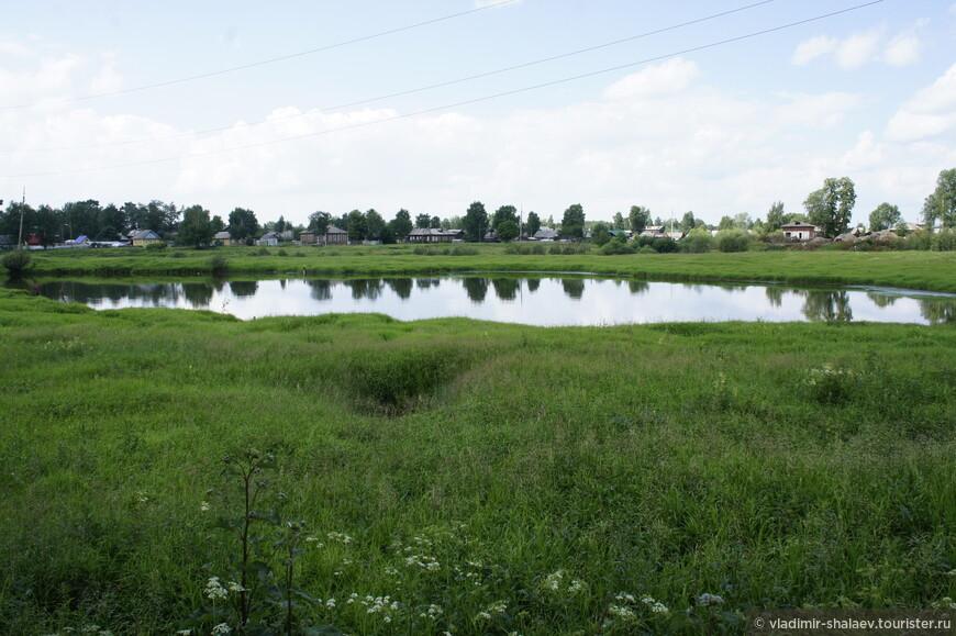 Солёное озеро.