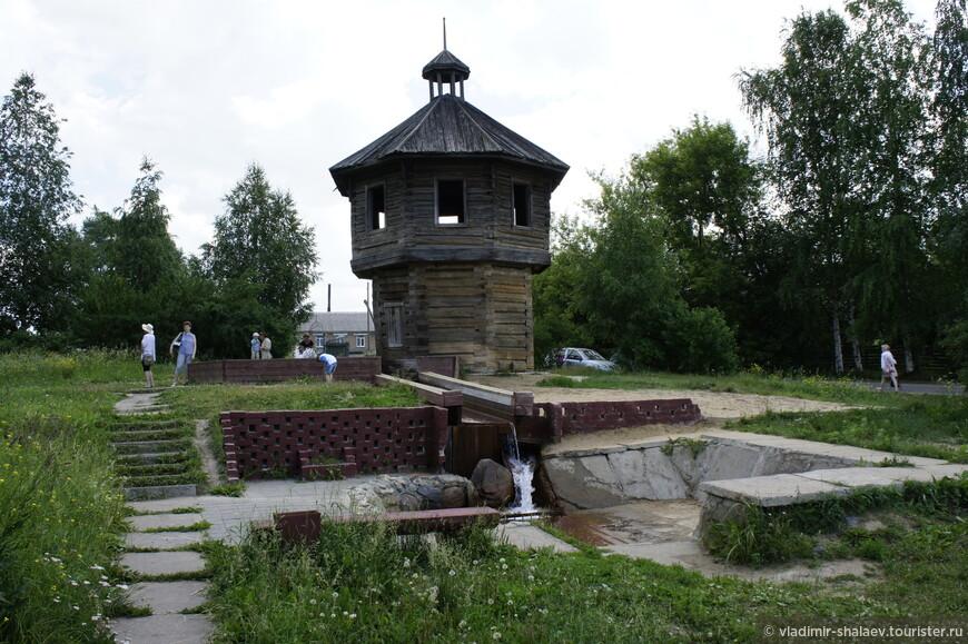 Башня старинного соляного источника.