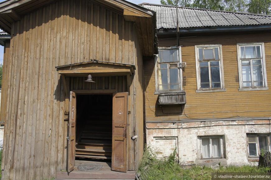 Жилой дом по улице Ленина.