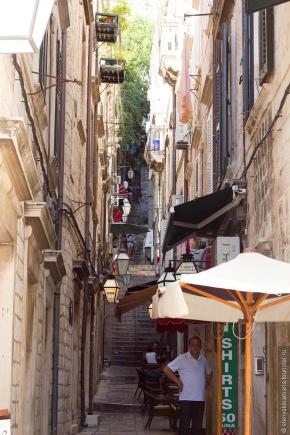 Узкие улочки Старого города