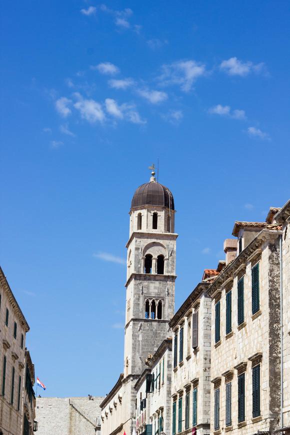 Францисканский мужской монастырь в Дубровнике