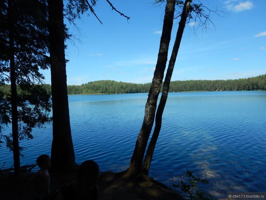 А это уже озеро Чистик-название говорит само за себя т. к. вода в нем прозрачная.