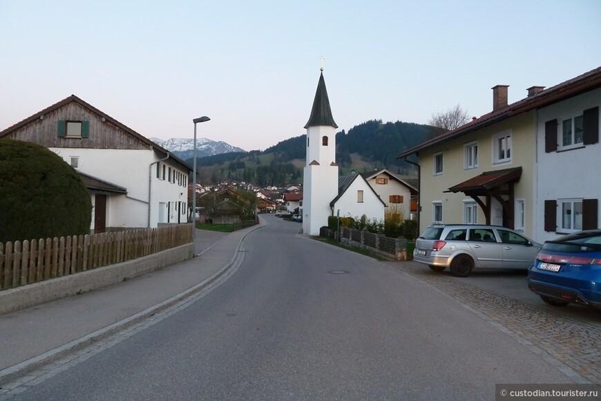 вечером становится очень пустынно на улицах.... туристы уезжают, а немцы ложатся спать, чтобы утром встать пораньше