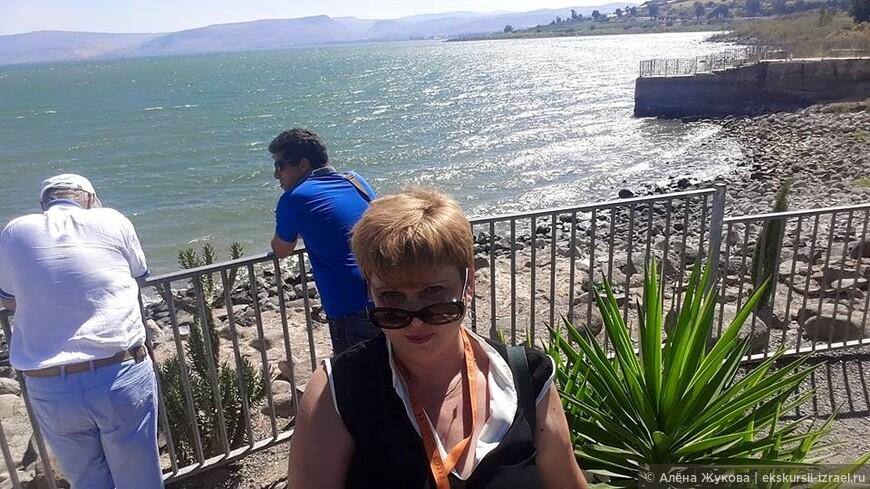 Озеро Кинерет, место чудес Христовых