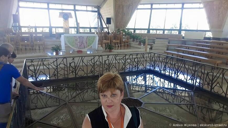 Дом Апостола Петра в Библейском Капернауме.