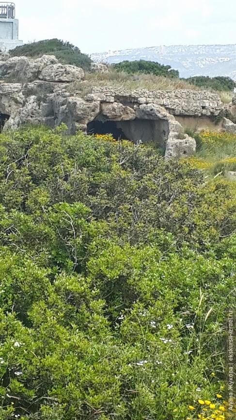 пещеры в галилейских горах