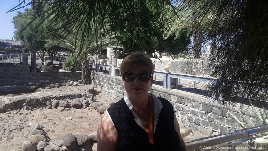 развалины библейского Капернаума.