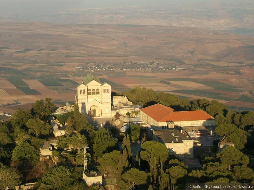 Храм Преображения Христова на горе Фавор, Галилейские высоты