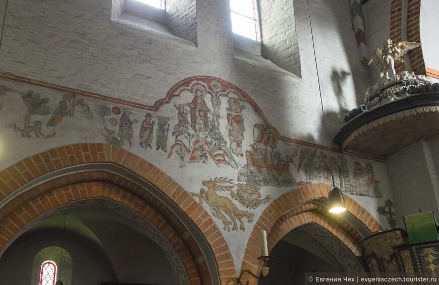 Чудесные фрески 13-14 века