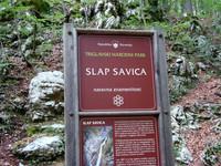 Словения Водопады Савицы 2008