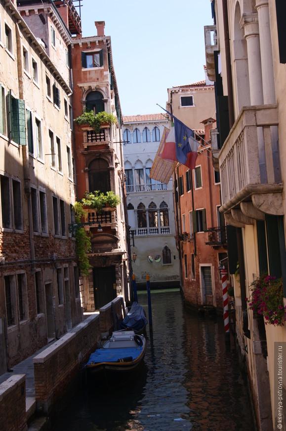Венецианские каналы зачаровывают.