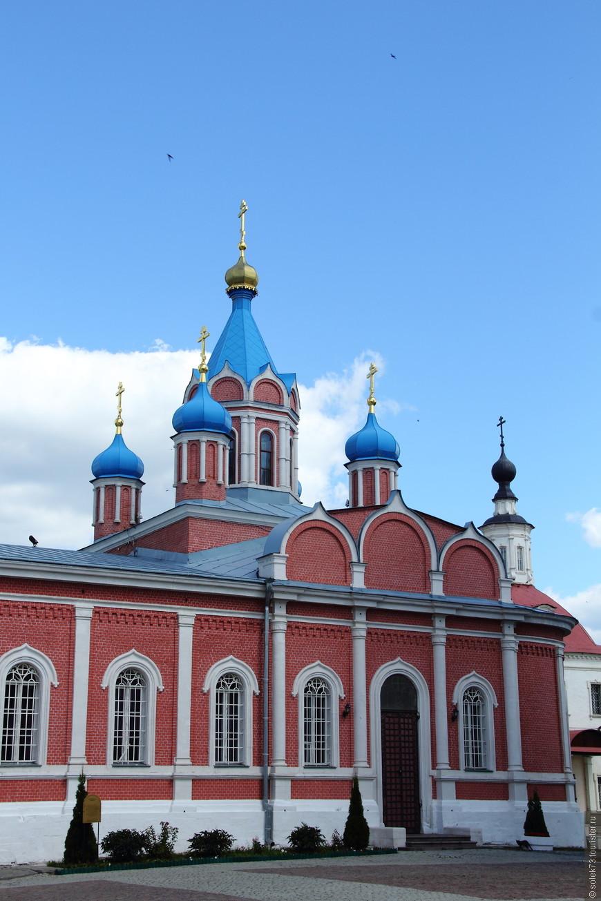 церковь тихвинской богоматери коломна целом