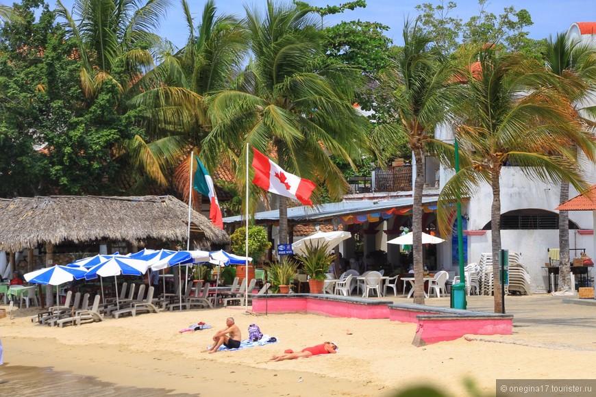 Мексику не нужно делить. На ее пляжах хватает места всем и Уатулько тому яркий пример.