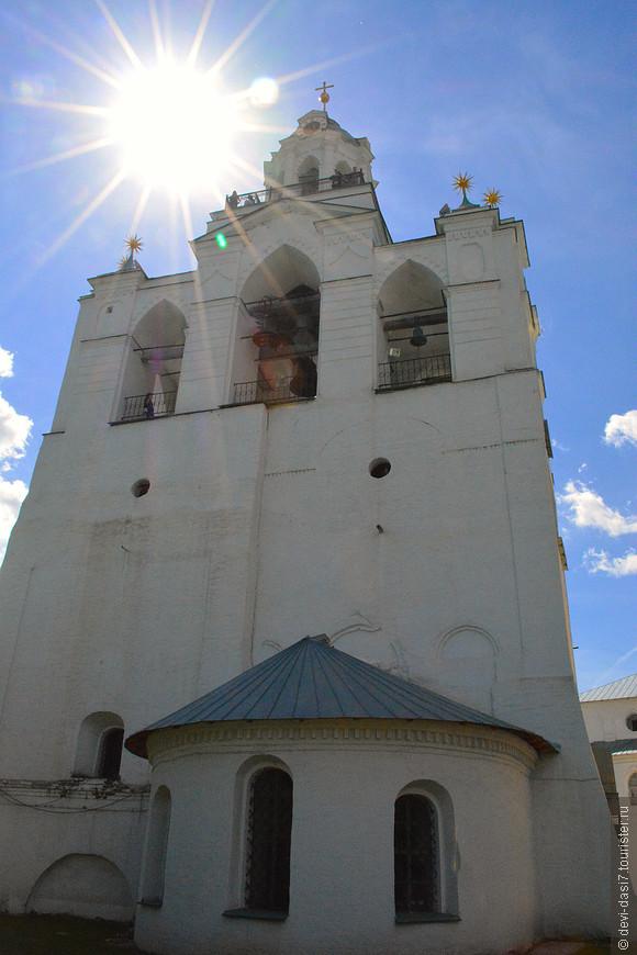 Звонница Спасо-Преображенского мужского монастыря