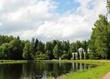 Пейзажи Павловского парка.