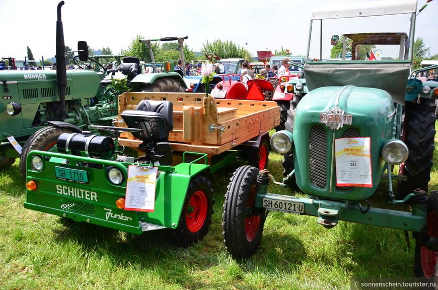 «Бульдог» – это собирательное народное название для всех видов маленьких сельскохозяйственных тракторов.