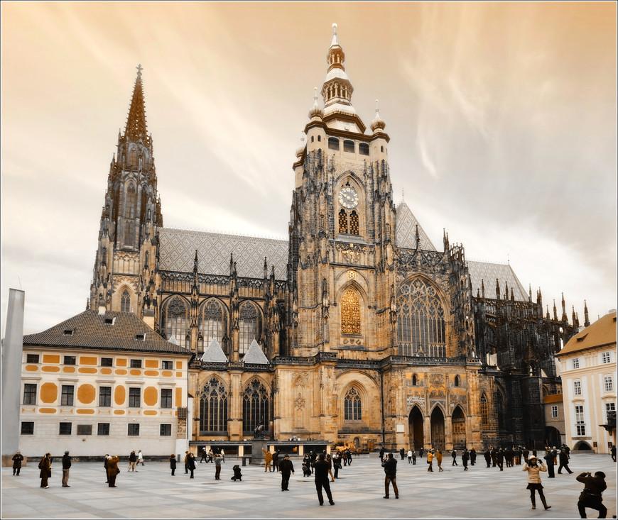 Сердце Праги - собор Святого Вита.