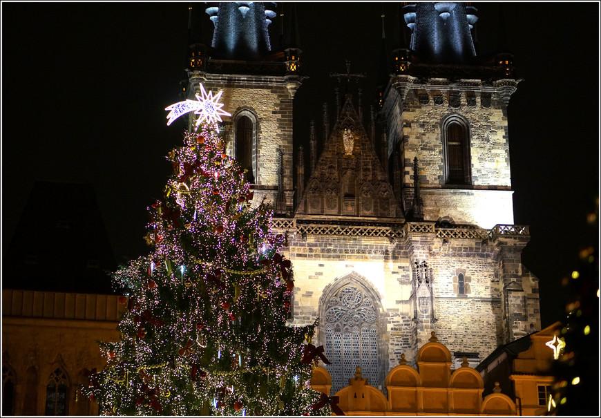 Храм девы Марии перед Тыном на Староместской площади.