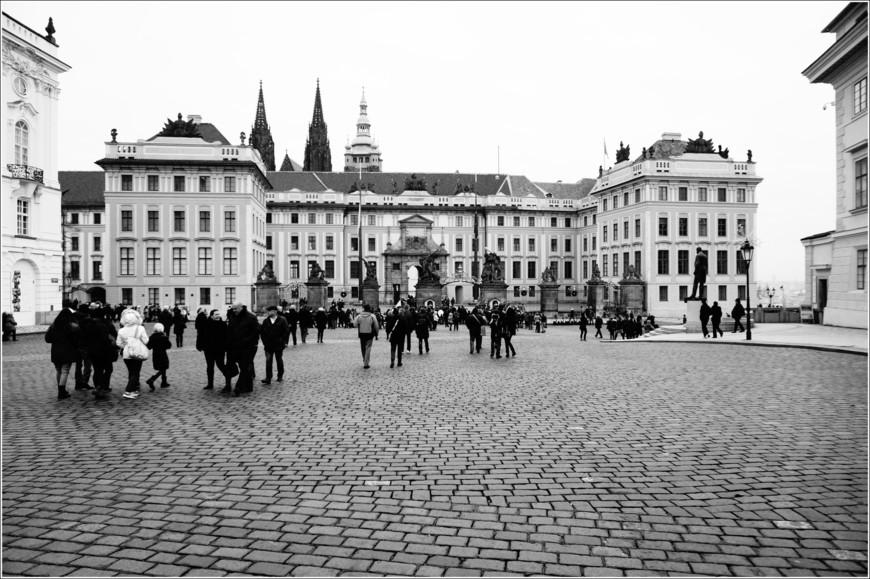 Градчанская площадь.