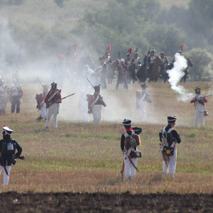 Год 1812. Россия-Франция. Битва при Лубино.