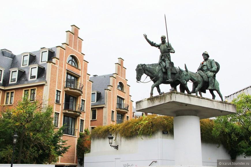 Памятник Дону Кихоту и Санчо Пасе