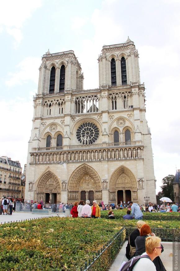 Парижский собор богоматери(нотр дам)