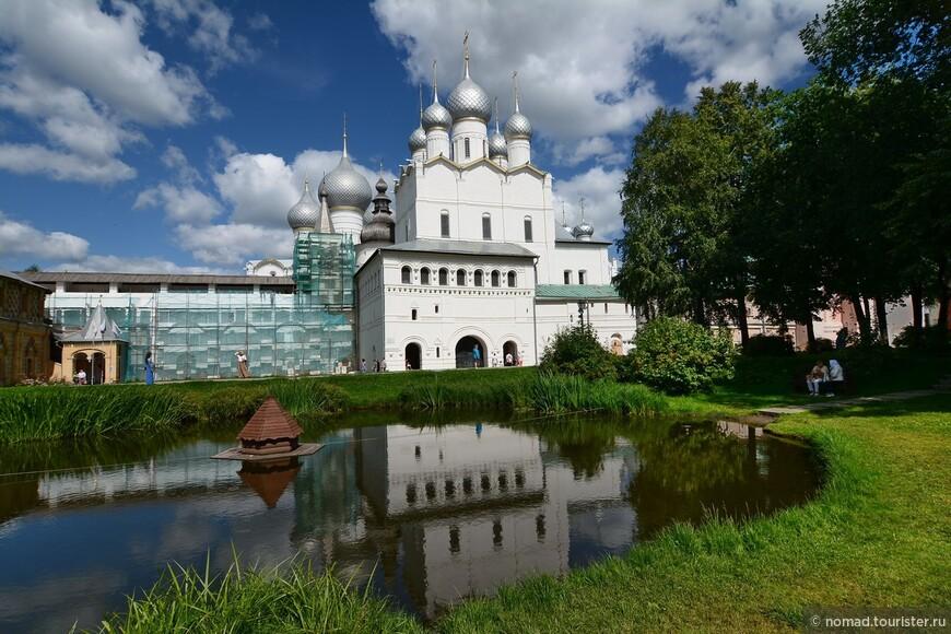 Кремль, Владычий двор, Церковь Вознесения