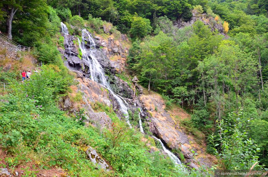 С июня 1987 года водопад является памятником архитектуры и входит в число десяти самых красивых природных памятников Германии.