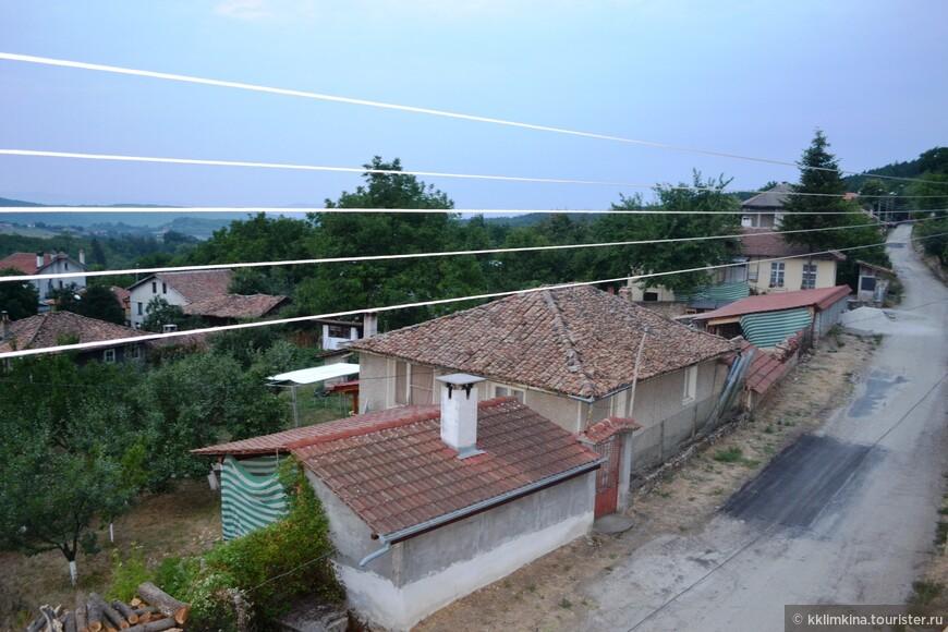 Вот такую картину мы увидели утром с балкона.