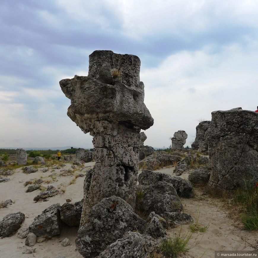 """Этот камень называется """"гриб"""""""
