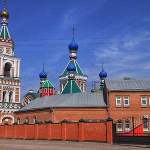 Воронеж. Казанский храм.