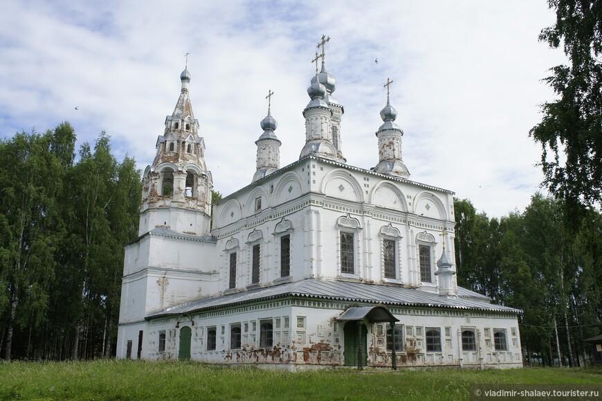 Спасо-Преображенский храм был возведен в 1696 году