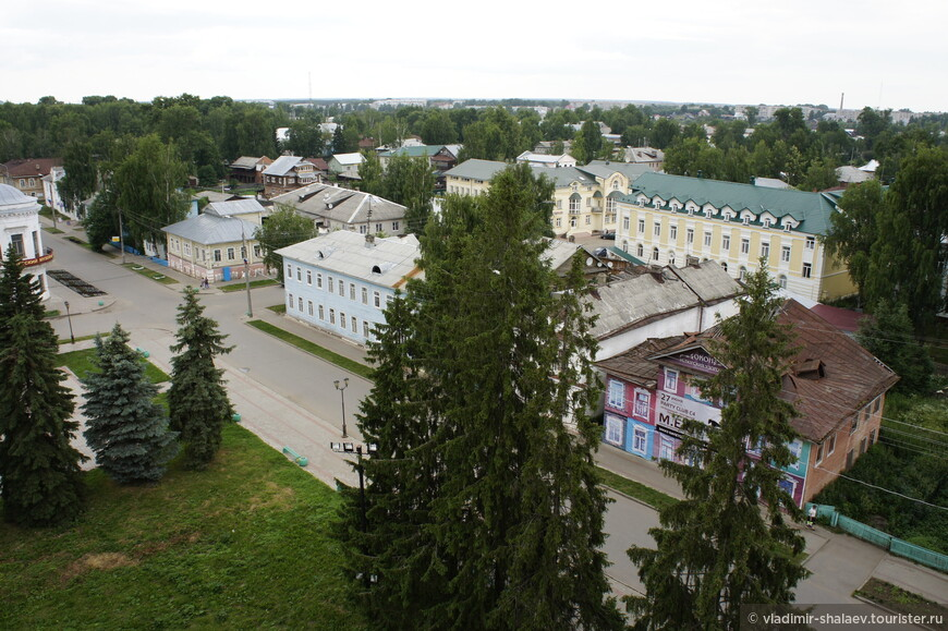 Вид на Советский проспект.