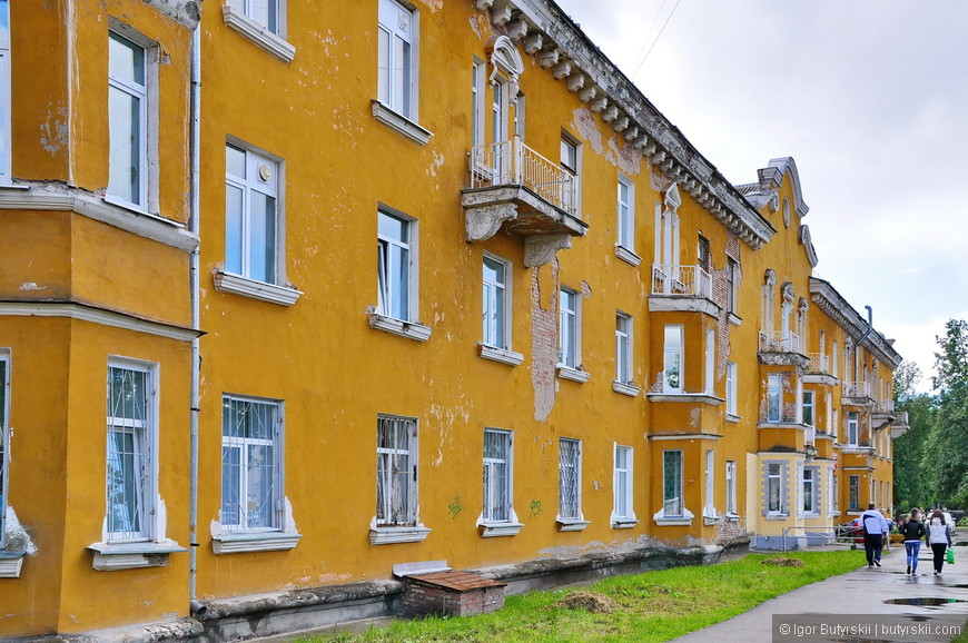 12. Дома в удручающем состоянии. С учетом того, что они не старинные, не 18 века.