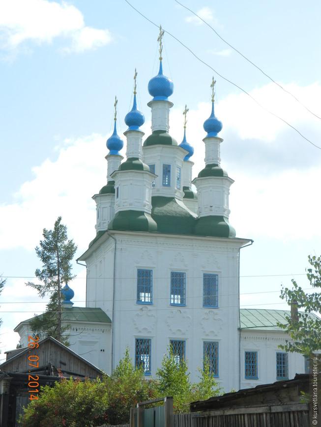 Церковь Троицы в Зеленской слободе