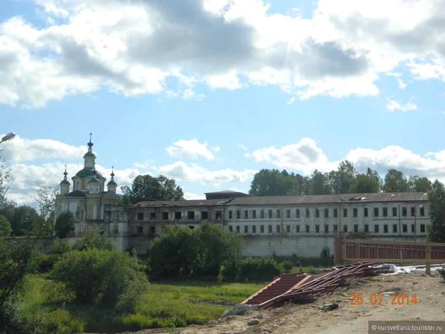 Спасо-Суморин монастырь потихоньку реставрируется