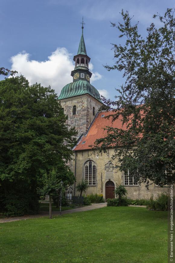 А это лютеранская церковь