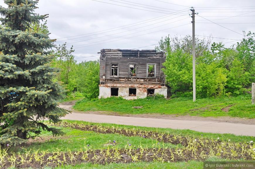 09. Не все дома в центре смогли дожить до наших дней.
