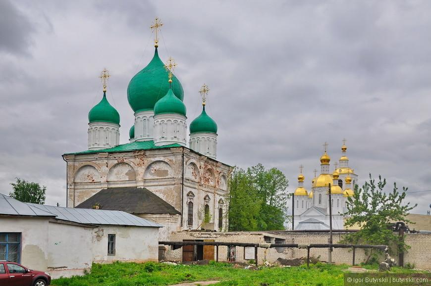 23. Спасо-Преображенский мужской монастырь ждет своей очереди на ремонт.
