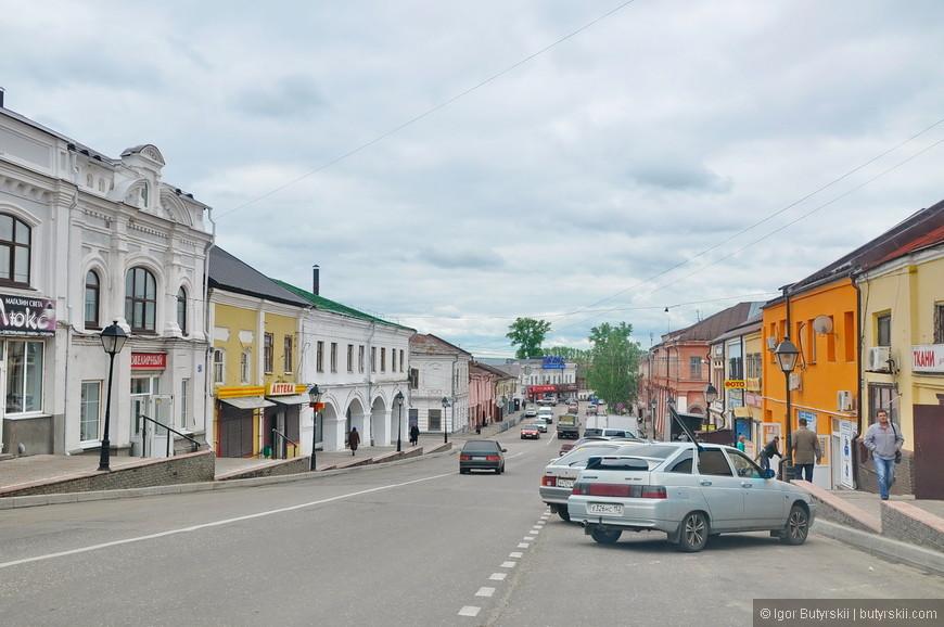 25. Купеческий центр, вообще, очень интересно как некогда крупные города потеряли свои «позиции» из-за индустриализации и территориальности.