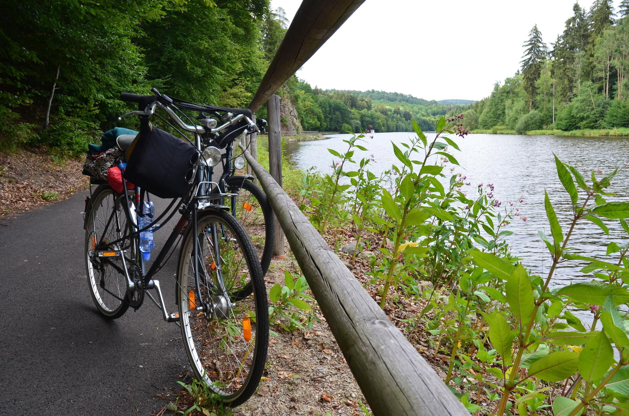 По Чехии на велосипеде