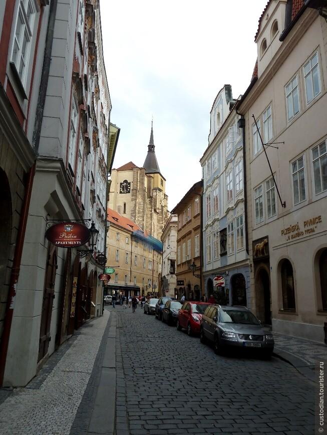 Церковь св. Ильи (Kostel sv. Jiljí) - одно из старейших сооружений в Праге (строительство в 1310-1371 гг). Современный вид костел приобрел в 1432 году после восстановления от пожара.
