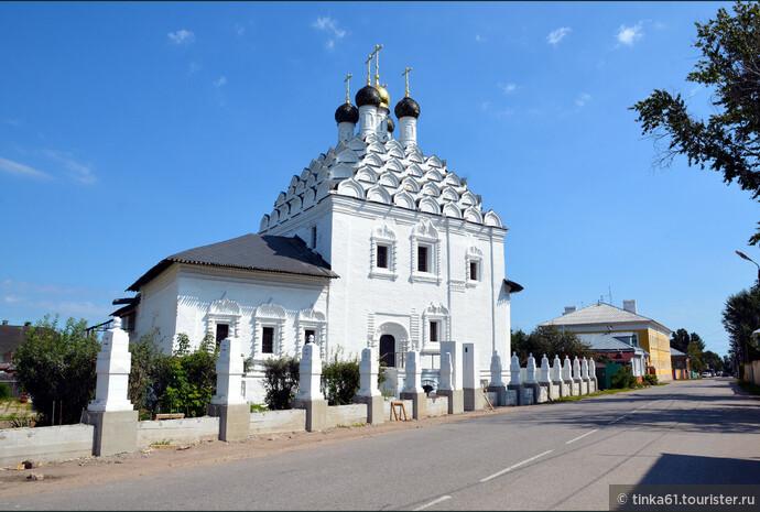 Старообрядческая церковь Николы Посадского.