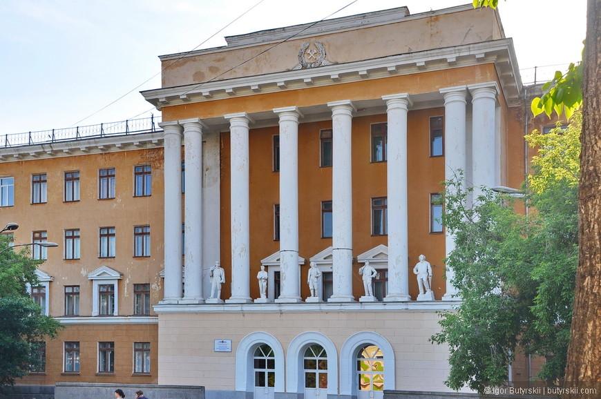 11. Интересное здание колледжа.