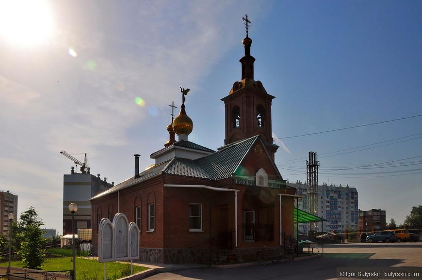 13. Самое интересное, что я нашел в городе – эта церковь.