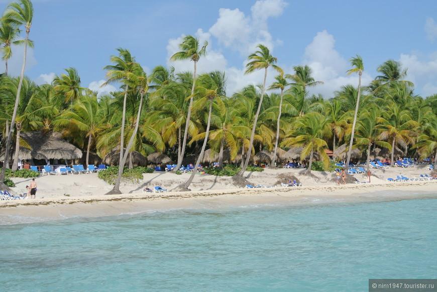 Пунта-Кана пляж  отеля