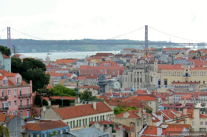 Вид с обзорной площадки da Graça