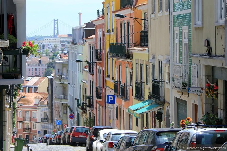 Крутые улицы Лиссабона