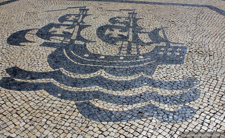 Разрисованная площадь Луи Камоэнса